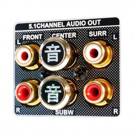 Akiko Audio RCA Tuning Cap - Gold