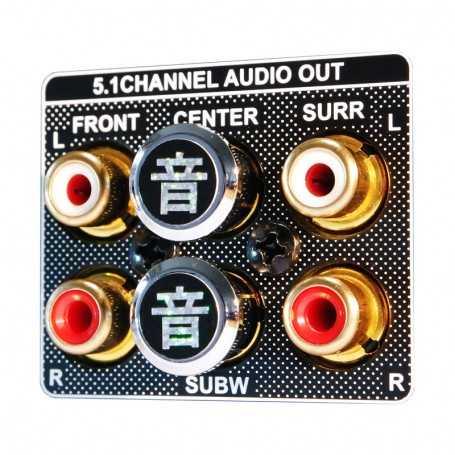 Akiko Audio RCA Tuning Cap - Rhodium