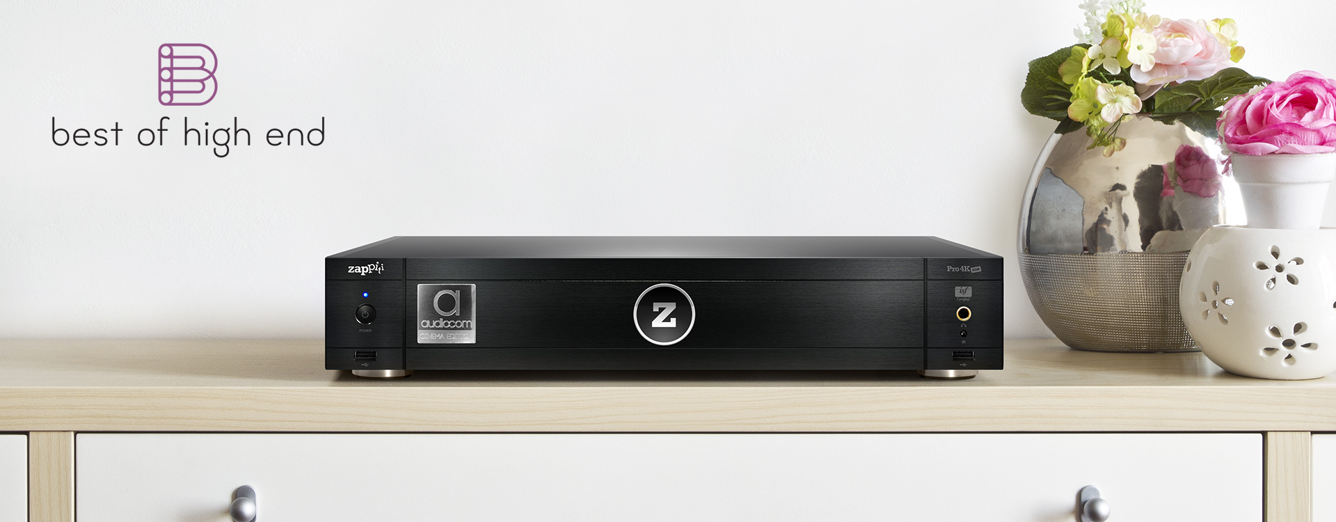 Zappiti Pro 4K HDR Cinema Edition review by Best of High End receives top Award!