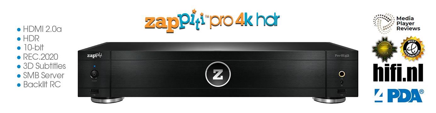 Zappiti Pro 4K HDR